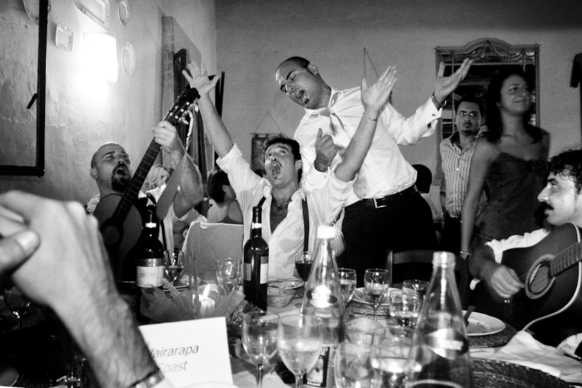 cantori romani gigi proietti festa corneliano