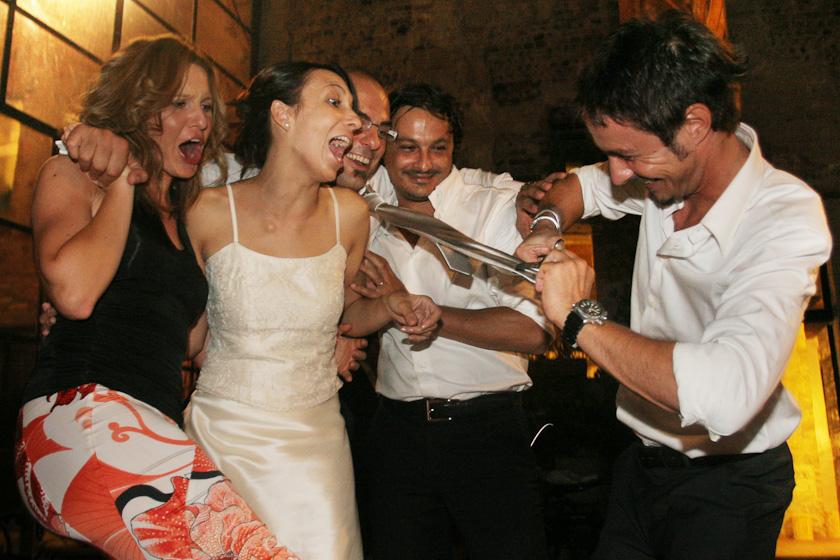 matrimonio taglio cravatta
