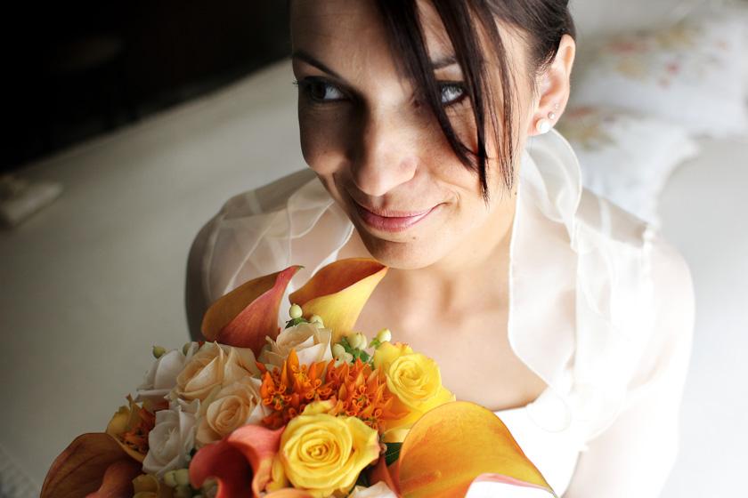 sposa milano fotografia fiori