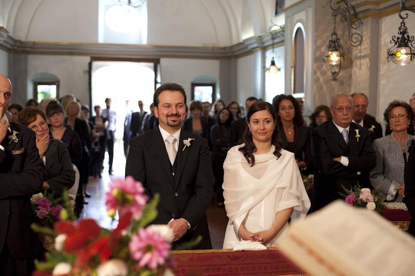 francesca e beppe sposi