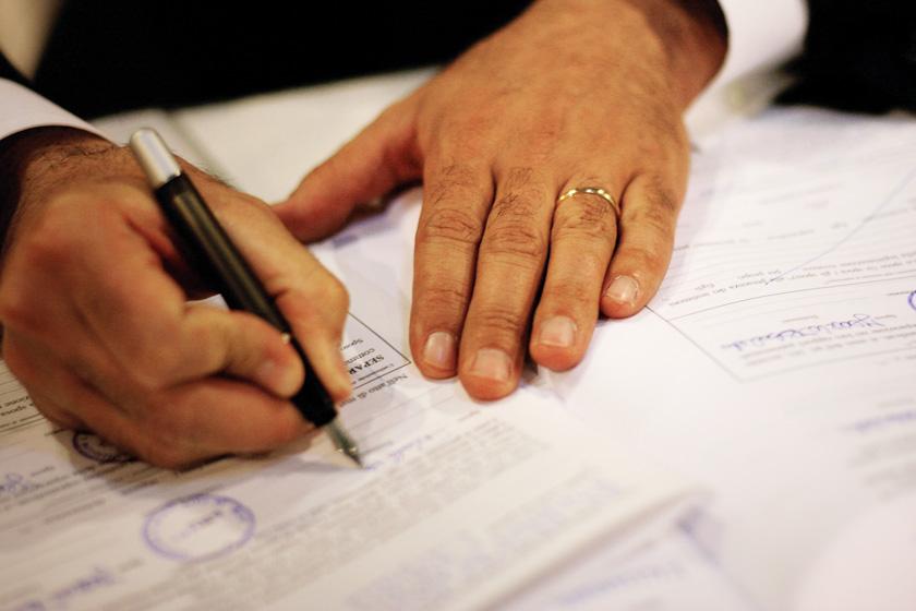 firma atti matrimonio