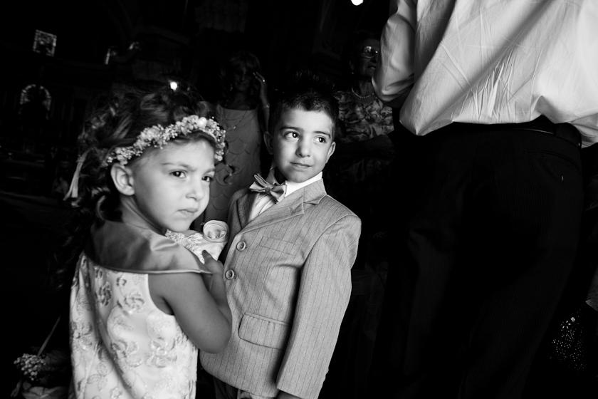 foto bimbi matrimonio in chiesa