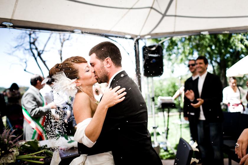bacio matrimonio torino