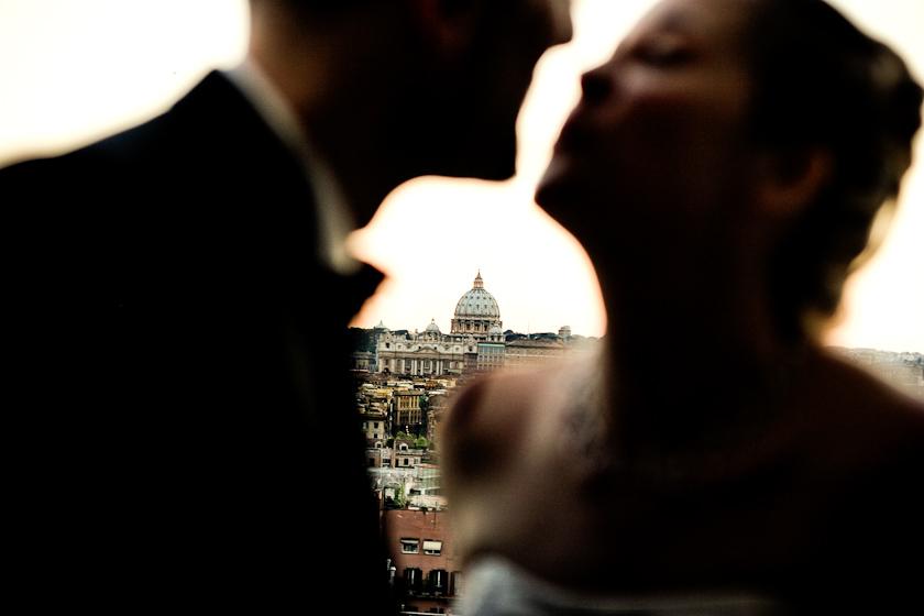 fotografia sposi roma vaticano