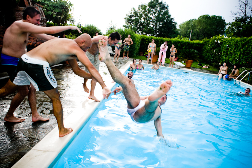 villa ricevimento nuziale con piscina