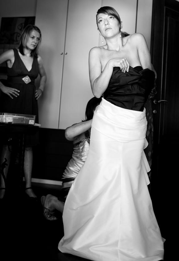 foto sposa indossa abito torino