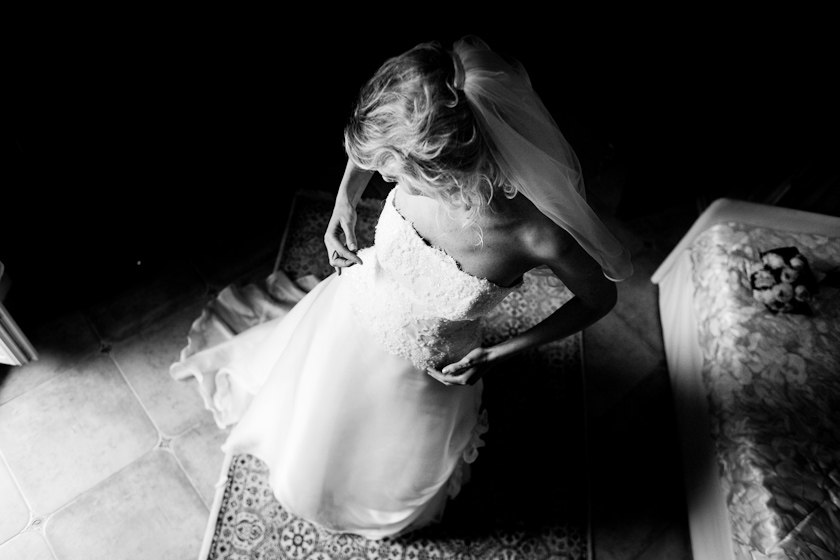fotografia sposa e bouquet
