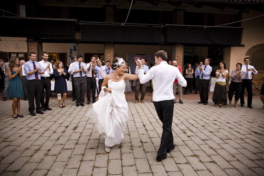 foto matrimonio ballo