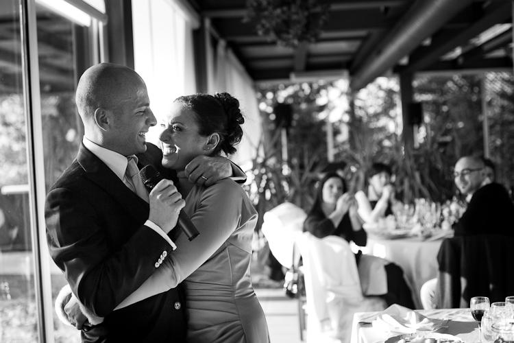foto sposi bacio