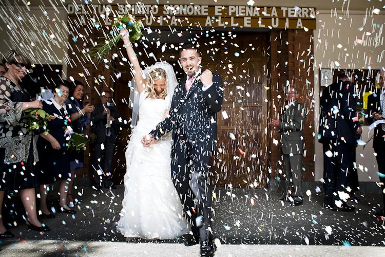 matrimonio torino lancio riso
