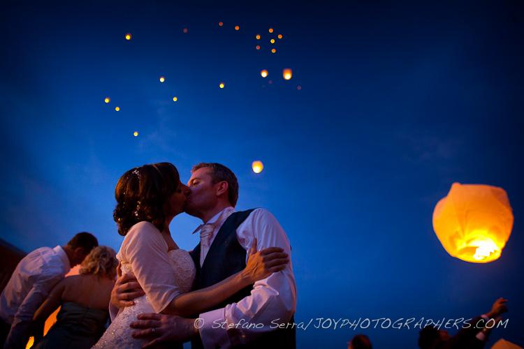 lanterne cinesi sposi