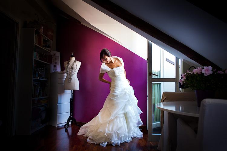 abito sposa pignatelli