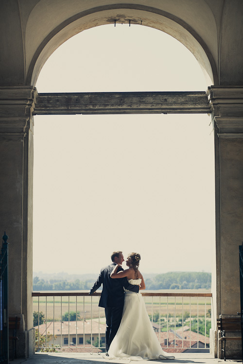 sposi castello aglie