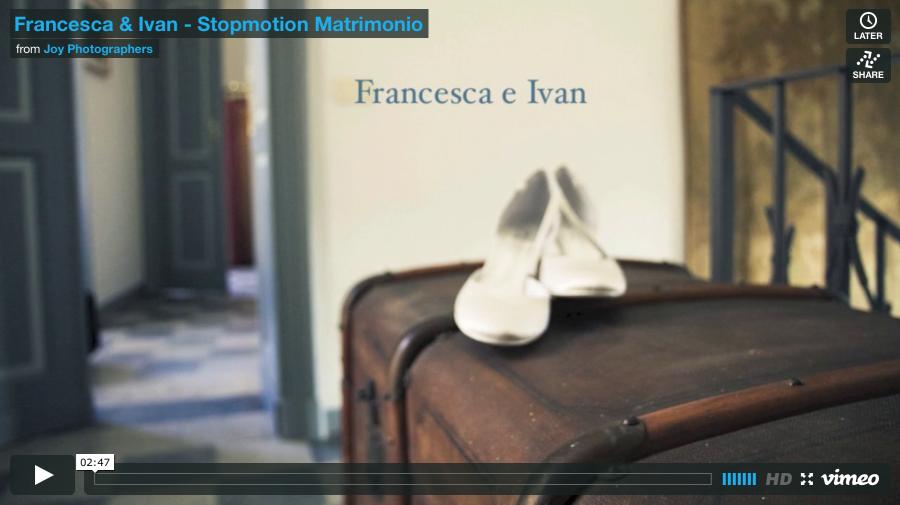 Francesca & Ivan | Stopmotion Matrimonio